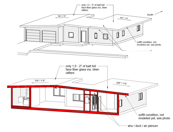 Insulating Mid Century House With A Flat Roof In Central Florida Greenbuildingadvisor