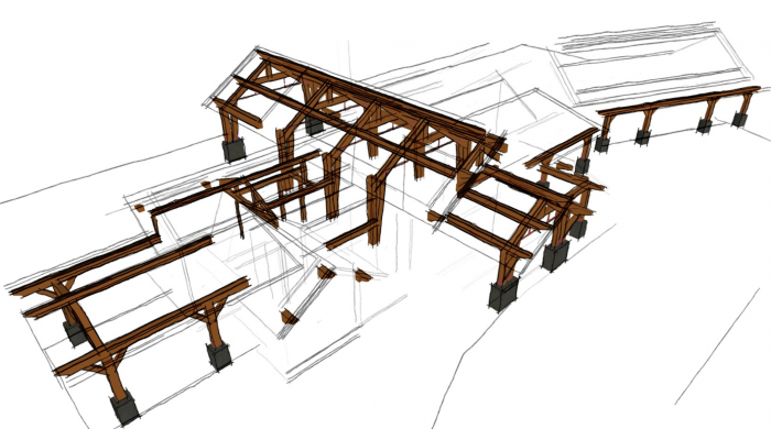 Cost difference of timberframe vs  traditional construction
