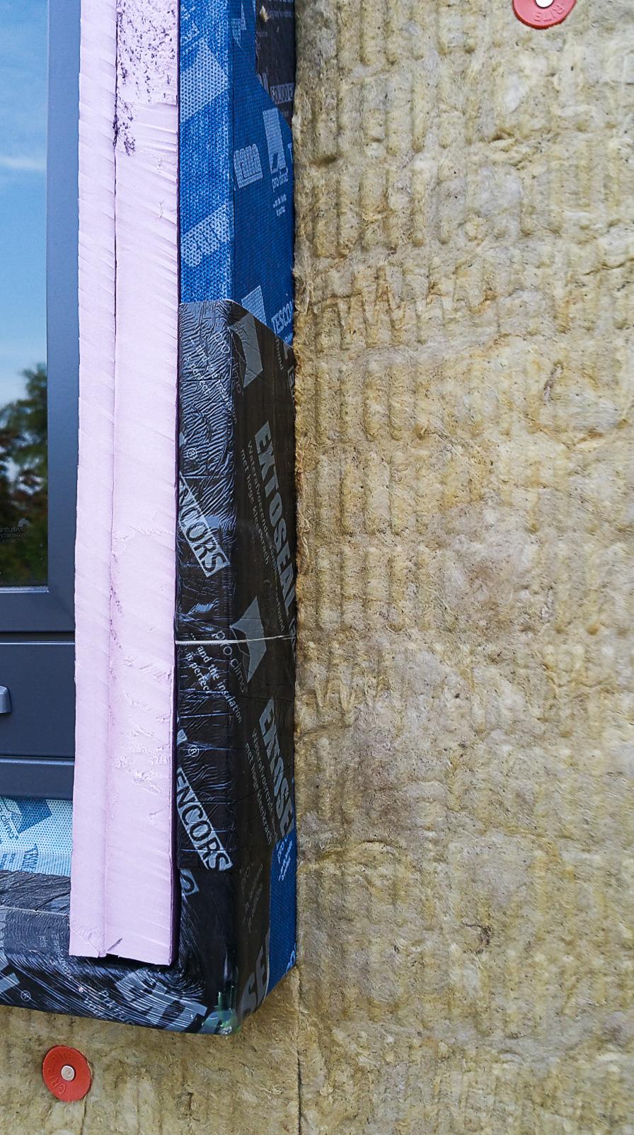 Urban Rustic: Exterior Insulation and a Rainscreen
