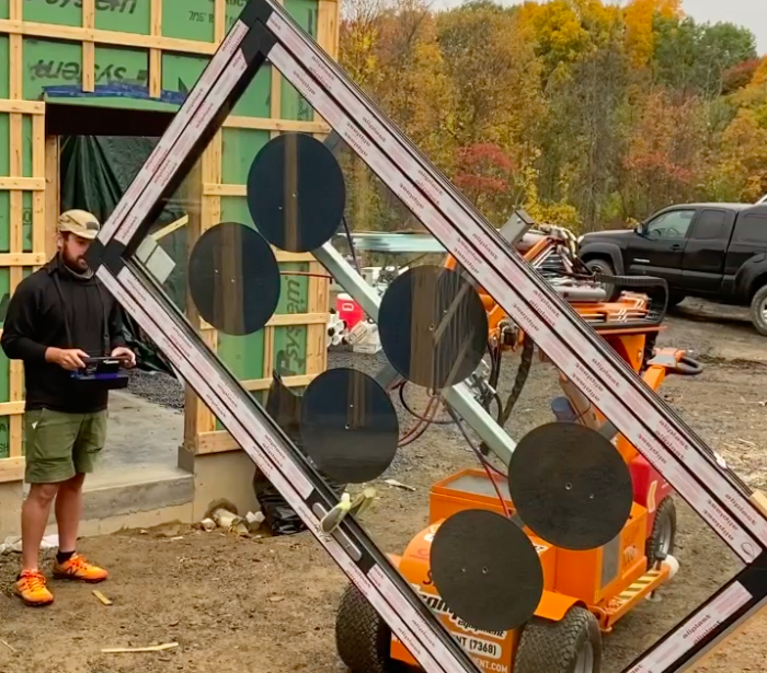 Mechanical window lift