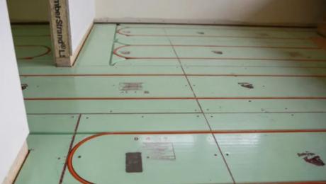 Radiant floor tubing