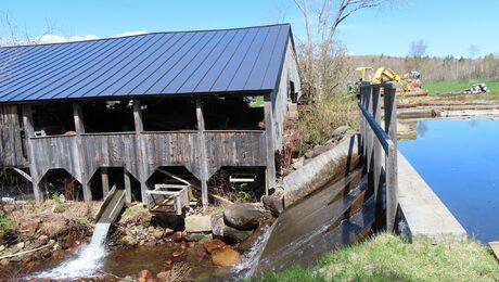 Exterior of Garland Mill