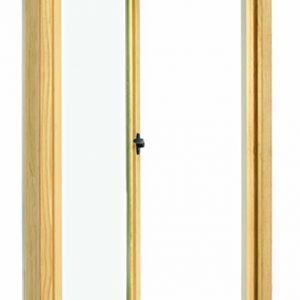 Tilt-and-turn frame