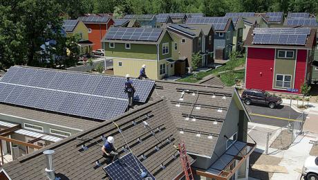 Neigborhood solar