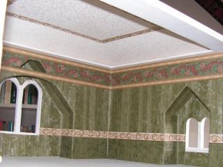 Wallpaper of the attic