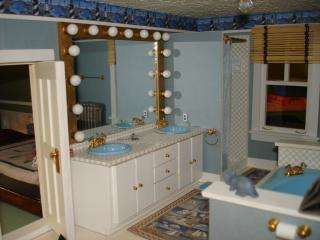 Bathroom, left side