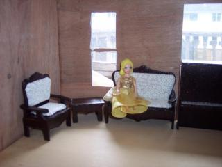 Furniture with doll