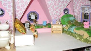 "Meghan Lee's first dollhouse the ""Orchid"" my g"