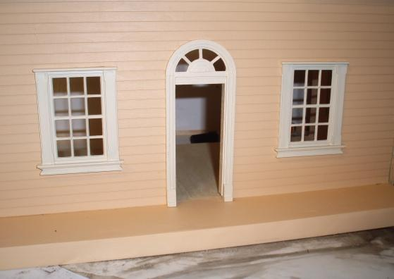 Puzzle house (half scale) - window / door upgrades