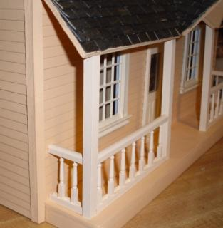 Puzzle house (half scale) - porch