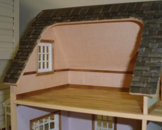Puzzle house (half scale) - interior trim