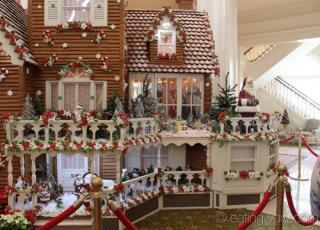 2013 grand floridian gingerbread house 3