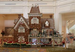 2013 grand floridian gingerbread house