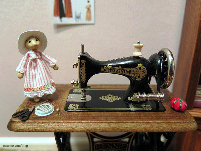 Bodo Hennig sewing machine