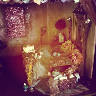 Faerie Manor bedroom