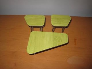 Midcentury Modern Table Sets on Etsy and Ebay