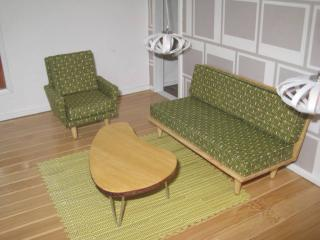 Midcentury Modern Living Room Set