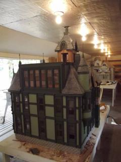 Back view of the carson mansion, 1/12 scale 2014