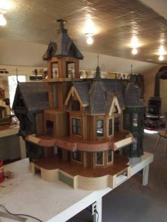 Front View Carson Mansion 1/12 scale 2014