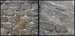 Steampunk House Stone Wall Detail