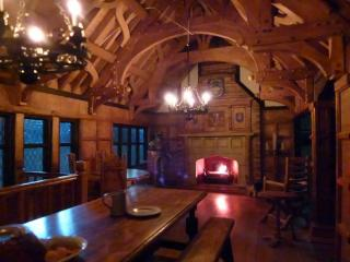 Tudor Inn firelight