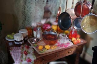 Close Up of the Marmalade Table