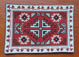 Navajo Carpet (half scale)