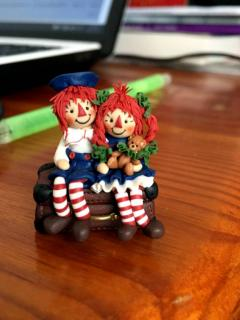Raggedy Andy and Raggedy Anne