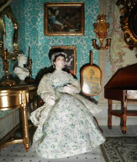 Miss Austen in  a more luxurious surrounding
