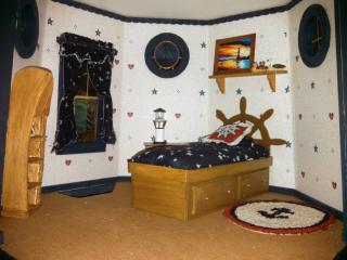 The Captain's bedroom