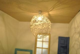 Fun IKEA inspired light