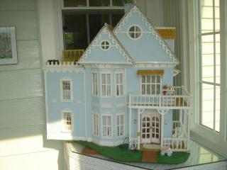 A. Tennyson, Blue Dollhouse (Cape May,circa.1985)
