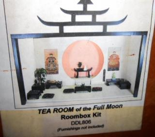 Tea Room of the Full Moon Room Box
