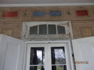 Whitney Plantation Back Gallery Window and Faux Finish