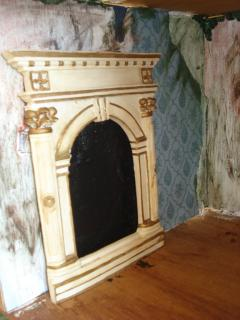 grand old fireplace