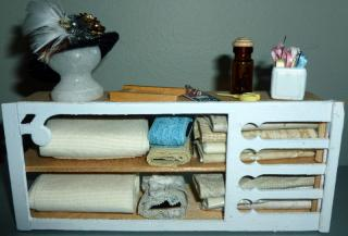Storage in Sewing Room