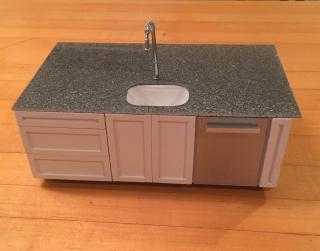Kitchen Island front