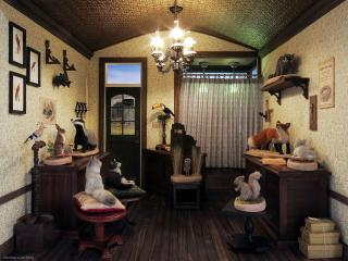 Ye Olde Taxidermist - interior