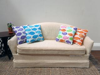 Fishy pillows