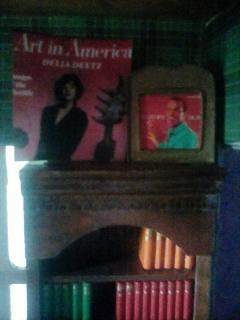 Delia's photo on cover of Art in America