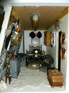 Bedroom in Steampunk Manor