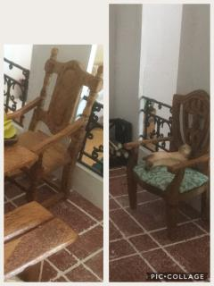 Two different chairs to choose from