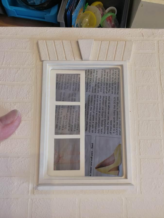The one finished window