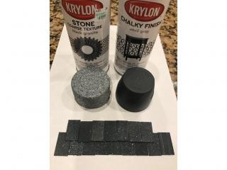Spray Painting Roof Tiles