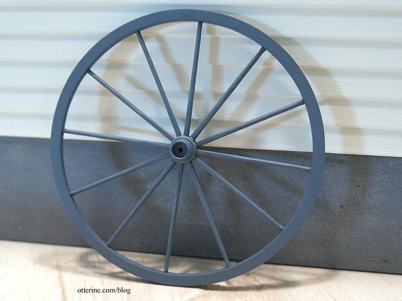 Wagon wheel - primed