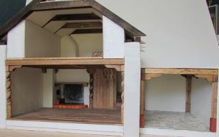 "A 3 room 1:24 ""masonry"" house"