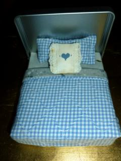 Lundby dollhouse  bed