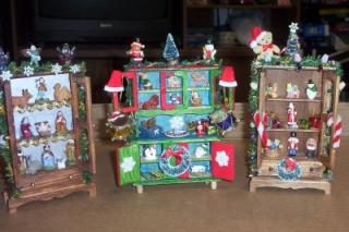 Christmas Hutches