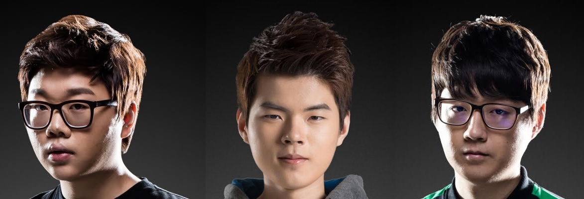 PawN, Deft and Mata from KT Rolster