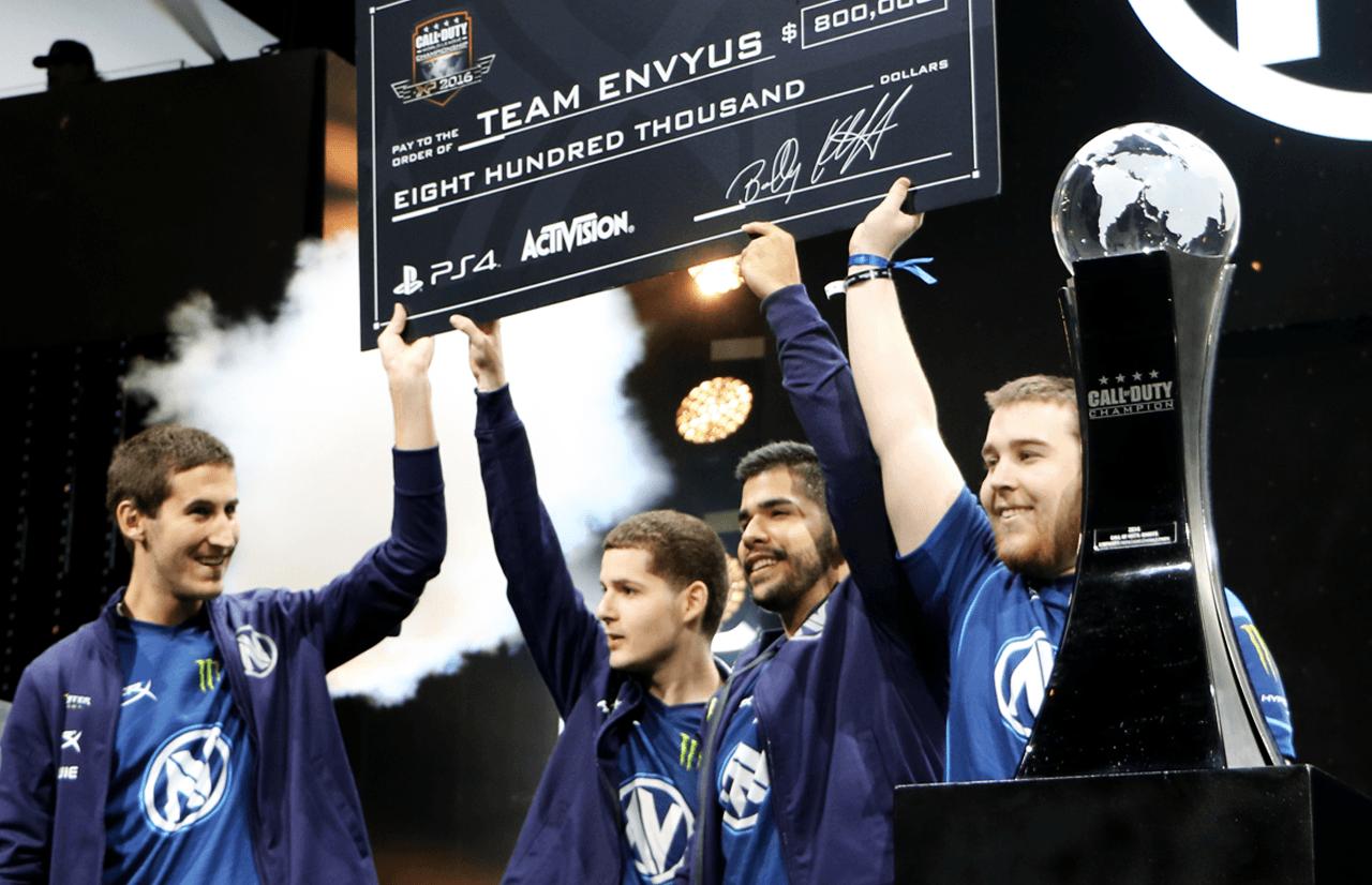 Team EnVyUs win the 2016 COD World Championship